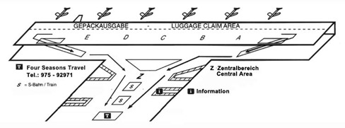 Plan MUC Airport